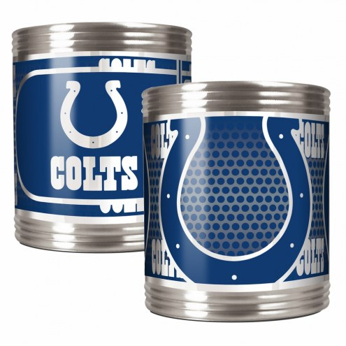 Indianapolis Colts Stainless Steel Hi-Def Coozie Set