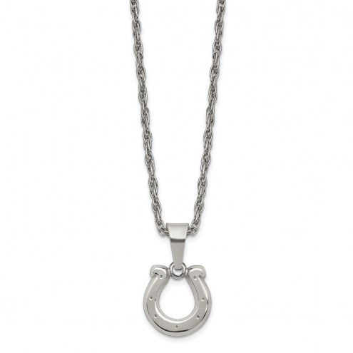 Indianapolis Colts Stainless Steel Pendant on Chain