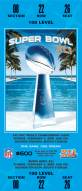 Indianapolis Colts Super Bowl Mini Mega Ticket