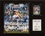 "Indianapolis Colts 12"" x 15"" Super Bowl XLI Champions Gold Plaque"
