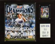 "Indianapolis Colts 12"" x 15"" Super Bowl XLI Champions Plaque"
