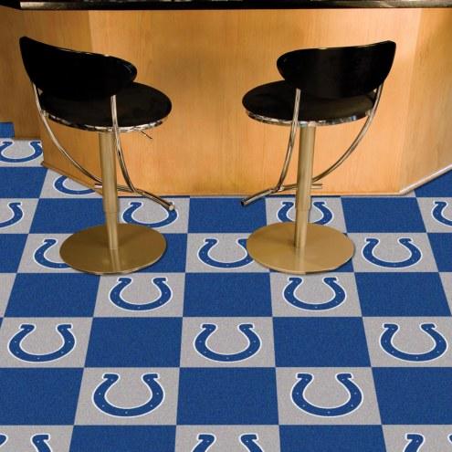 Indianapolis Colts Team Carpet Tiles