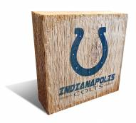 Indianapolis Colts Team Logo Block