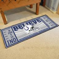 Indianapolis Colts Ticket Runner Rug