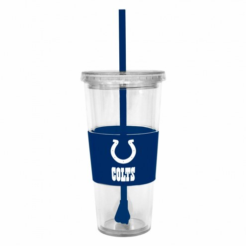 Indianapolis Colts Tumbler with Straw