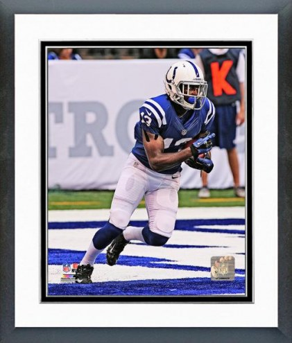 Indianapolis Colts T.Y. Hilton 2012 Action Framed Photo