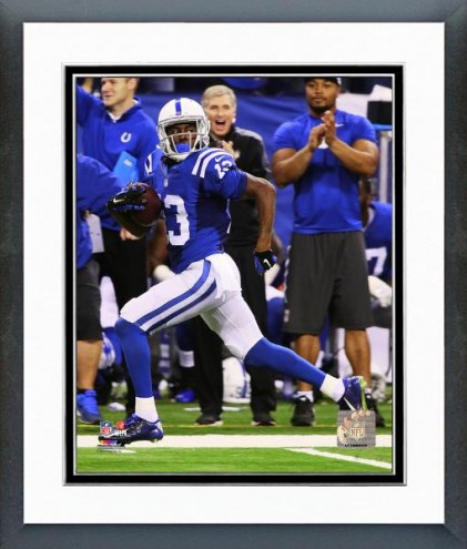 Indianapolis Colts T.Y. Hilton 2014 Action Framed Photo