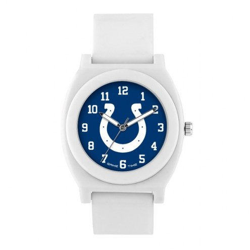 Indianapolis Colts Unisex Fan White Watch