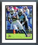 Indianapolis Colts Vick Ballard 2012 Action Framed Photo