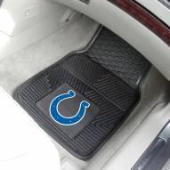 Indianapolis Colts Vinyl 2-Piece Car Floor Mats