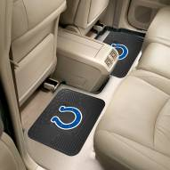 Indianapolis Colts Vinyl 2-Piece Rear Floor Mats