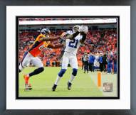 Indianapolis Colts Vontae Davis Playoff Action Framed Photo