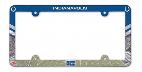Indianapolis Colts License Plate Frame