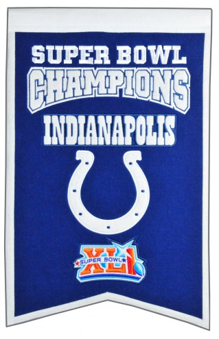 Indianapolis Colts Champs Banner