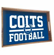 Indianapolis Colts Wooden Serving Tray
