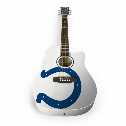 Indianapolis Colts Woodrow Acoustic Guitar