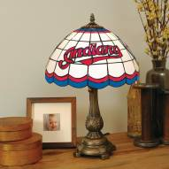 Cleveland Indians MLB Stained Glass Table Lamp