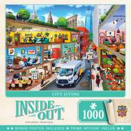 Inside Out City Living 1000 Piece Puzzle