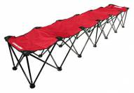 Insta-Bench 6-Seater - Red
