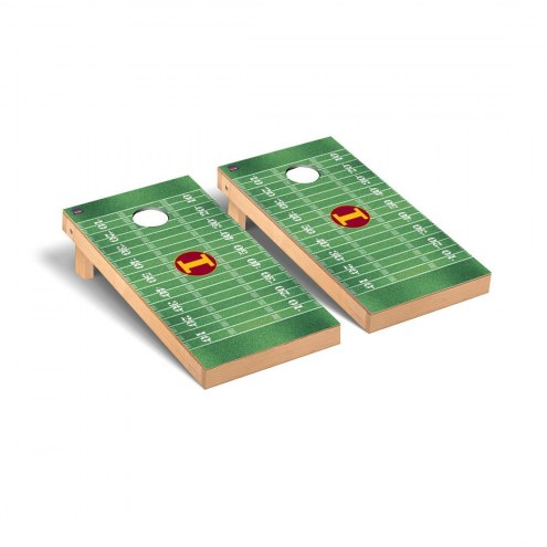 Iona Gaels Football Field Cornhole Game Set