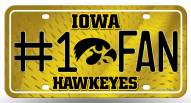 Iowa Hawkeyes #1 Fan License Plate