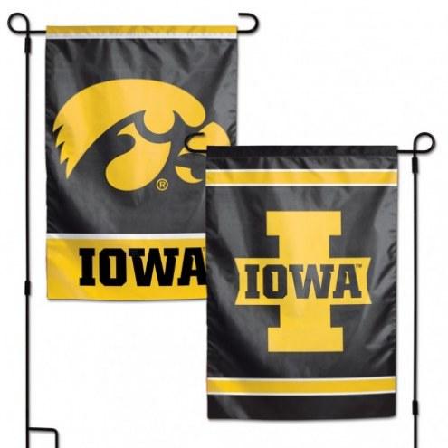 """Iowa Hawkeyes 11"""" x 15"""" Garden Flag"""