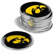 Iowa Hawkeyes 12-Pack Golf Ball Markers