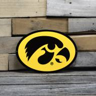 "Iowa Hawkeyes 12"" Steel Logo Sign"