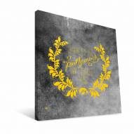 "Iowa Hawkeyes 12"" x 12"" Favorite Thing Canvas Print"