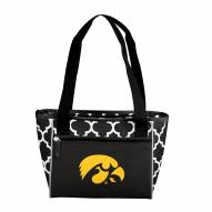 Iowa Hawkeyes 16 Can Cooler Tote