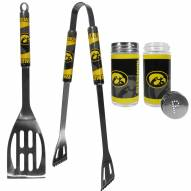 Iowa Hawkeyes 2 Piece BBQ Set with Tailgate Salt & Pepper Shakers