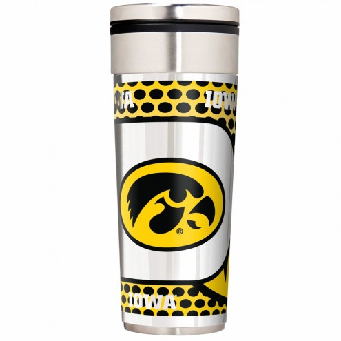 Iowa Hawkeyes 22 oz. Hi Def Travel Tumbler