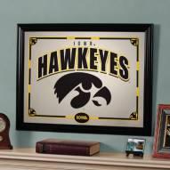 """Iowa Hawkeyes 23"""" x 18"""" Mirror"""