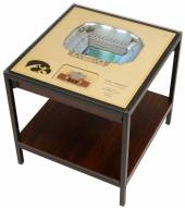 Iowa Hawkeyes 25-Layer StadiumViews Lighted End Table