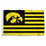 Iowa Hawkeyes 3' x 5' Stripes Flag