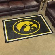 Iowa Hawkeyes 4' x 6' Area Rug