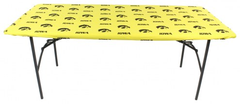 Iowa Hawkeyes 6' Logo Table Cover