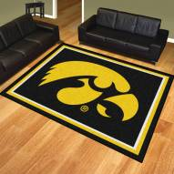 Iowa Hawkeyes 8' x 10' Area Rug