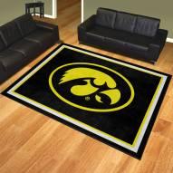 Iowa Hawkeyes 8' x 10' Area Rug