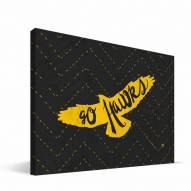 "Iowa Hawkeyes 8"" x 12"" Mascot Canvas Print"