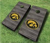 Iowa Hawkeyes Cornhole Board Set