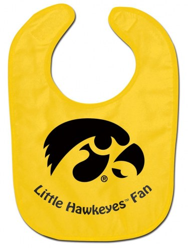 Iowa Hawkeyes All Pro Little Fan Baby Bib