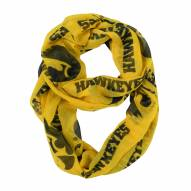 Iowa Hawkeyes Alternate Sheer Infinity Scarf