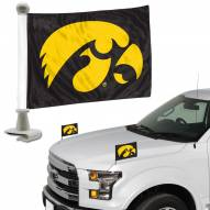 Iowa Hawkeyes Ambassador Hood & Trunk Car Flag