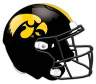 Iowa Hawkeyes Authentic Helmet Cutout Sign