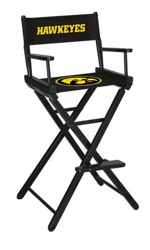 Iowa Hawkeyes Bar Height Director's Chair