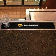 Iowa Hawkeyes Bar Mat