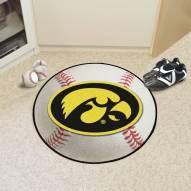 Iowa Hawkeyes Baseball Rug