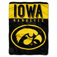 Iowa Hawkeyes Basic Raschel Blanket