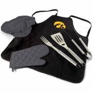 Iowa Hawkeyes BBQ Apron Tote Set